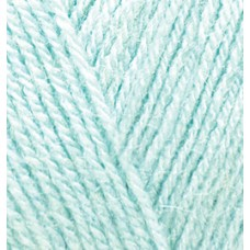 Пряжа для вязания Ализе Superlana TIG (25% шерсть, 75% акрил) 5х100г/570 м цв.514 зимнее небо
