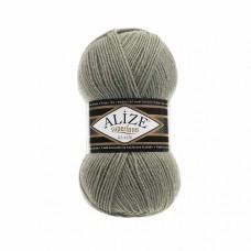Пряжа для вязания Ализе Superlana klasik (25% шерсть, 75% акрил) 5х100г/280м цв.138 зеленый миндаль