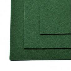 Фетр листовой мягкий IDEAL 1мм 20х30см FLT-S1 уп.10 листов цв.667 т.зеленый