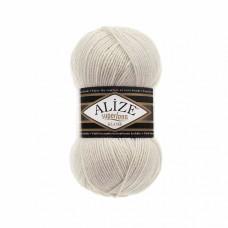 Пряжа для вязания Ализе Superlana klasik (25% шерсть, 75% акрил) 5х100г/280м цв.599 слоновая кость