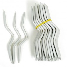 Спицы вспомогательные для вязания косичек тефлон TBY-СКТ-5, 5.0х120 мм, 2 шт.