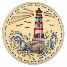 Набор для вышивания Щепка О-020 Дыхание океана 18х18 см