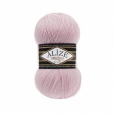 Пряжа для вязания Ализе Superlana klasik (25% шерсть, 75% акрил) 5х100г/280м цв.161 пудра