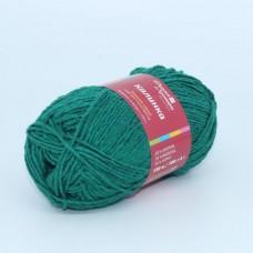 Пряжа для вязания ТРО Калинка (20% хлопок, 30% вискоза, 50% акрил) 5х100г/130м цв.2286 зеленый луг