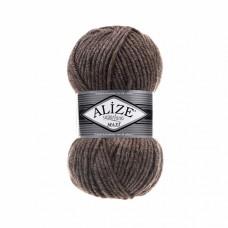 Пряжа для вязания Ализе Superlana maxi (25% шерсть, 75% акрил) 5х100г/100м цв.240 кофе с молоком