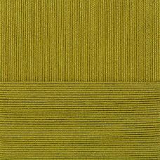 Пряжа для вязания ПЕХ Лаконичная (50% хлопок, 50% акрил) 5х100г/212м цв.033 золотистая олива