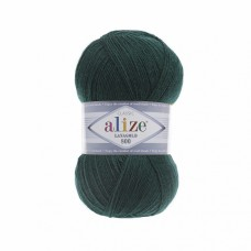 Пряжа для вязания Ализе LanaGold 800 (49% шерсть, 51% акрил) 5х100г/800м цв.426 петроль