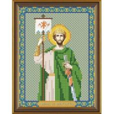 Рисунок на ткани бисер НОВА СЛОБОДА МАХ.БИС-А4.5-5185  Св. Константин