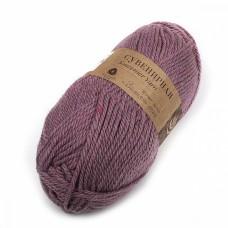 Пряжа для вязания ПЕХ Сувенирная (50% шерсть, 50% акрил) 5х200г/160м цв.1160 св.сиреневый меланж