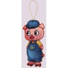 Наборы для вышивания декоративных игрушек BUTTERFLY  F110 Ниф-Ниф