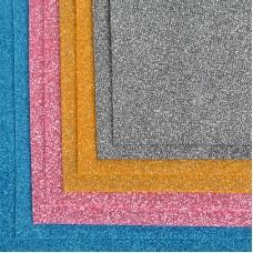 Набор листового фетра (глиттерный) IDEAL 1,4мм 20х30см FLT-GL1 уп.8 листов цв.ассорти