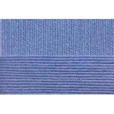 Пряжа для вязания ПЕХ Школьная (100% акрил) 5х50г/150м цв.015 т.голубой