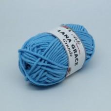 Пряжа для вязания ТРО LANA GRACE Grande (25% мериносовая шерсть, 75% акрил супер софт) 5х100г/65м цв.0300 св.голубой