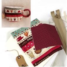 Набор для изготовления текстильной куклы K001 Kitchen story 16 см Ваниль