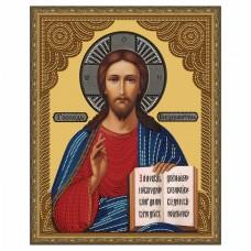Картина 5D мозаика с нанесенной рамкой Molly KM0791 Господь Вседержитель (12 цветов) 40х50 см