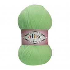 Пряжа для вязания Ализе Extra Life (100% акрил) 5х100г/480м цв.915 зеленый