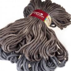 Пряжа для вязания ТРО Вирджиния (100% мериносовая шерсть) 5х150г/85м цв.4359 секционный