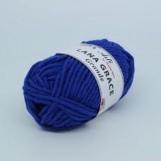 Пряжа для вязания ТРО LANA GRACE Grande (25% мериносовая шерсть, 75% акрил супер софт) 5х100г/65м цв.0170 василек