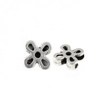 Бусины металлические TESОRO TS-4812 цв.античное серебро уп.2шт ?15 мм