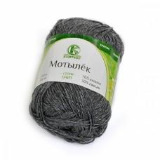 Пряжа для вязания КАМТ Мотылек (70% хлопок, 30% лавсан) 5х50г/140м цв.137 маренго