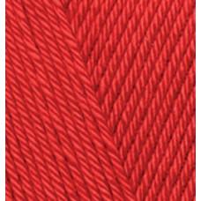 Пряжа для вязания Ализе Diva (100% микрофибра) 5х100г/350м цв.106 красный