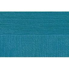 Пряжа для вязания ПЕХ Народная классика (30% шерсть, 70% акрил) 5х100г/400м цв.583 бирюза