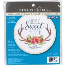 Набор для вышивания DIMENSIONS DMS-72-75984 Дом, милый дом