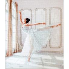 Набор для вышивания LETI  901 Балерина 26,5х32 см