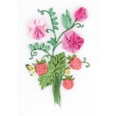 Набор для вышивания PANNA Живая картина  ЖК-2136 Шарм лета 11х16 см