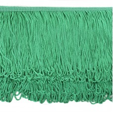 Бахрома шелковая FD-10 шир.10см цв.116 бл.зеленый уп.10м