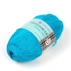 Пряжа для вязания ПЕХ Виртуозная (100% мерсеризованный хлопок) 5х100г/333м цв.583 бирюза