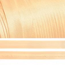 Косая бейка TBY атласная шир.15мм цв.F291 бл.бежевый уп.132 м