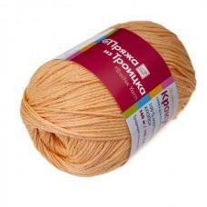 Пряжа для вязания ТРО Крокус (100% мерсеризованный хлопок) 5х100г/160м цв.2866 персик