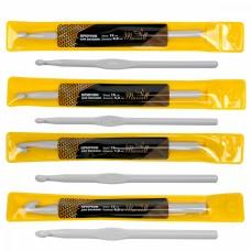 Набор крючков для вязания Maxwell Gold металлические со специальным покрытием MAXW.38573 (6.0 мм/ 6.5 мм/ 7.0 мм/ 8.0 мм)