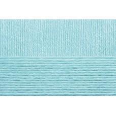 Пряжа для вязания ПЕХ Детская объёмная (100% микрофибра) 5х100г/400м цв.222 голубая бирюза