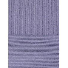 Пряжа для вязания ПЕХ Нежная (50% хлопок, 50% акрил) 5х50г/150м цв.022 сирень