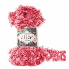 Пряжа для вязания Ализе Puffy Fur (100% полиэстер) 5х100г/6м цв.6115