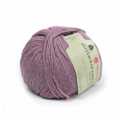 Пряжа для вязания ПЕХ Перуанская альпака (50% альпака, 50% меринос шерсть) 10х50г/150м цв.1089 сиреневый меланж
