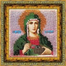 Набор для вышивания Вышивальная мозаика  057ПМИ.СВ.Муч.Зинаида Тарсийская 6,5х6,5см