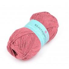 Пряжа для вязания ПЕХ Мультицветная (65% полиэстер, 35% хлопок) 5х50г/180м цв.363 св.вишня