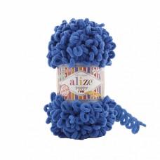 Пряжа для вязания Ализе Puffy Fine (100% микрополиэстер) 5х100г/14м цв.637 морская волна