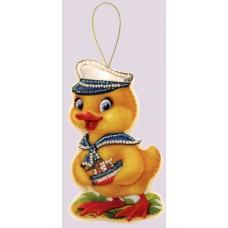 Наборы для вышивания декоративных игрушек BUTTERFLY  F105 Утенок