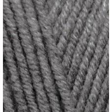 Пряжа для вязания Ализе Lana Gold Plus (49% шерсть, 51% акрил) 5х100г/140м цв.182 средне серый
