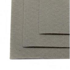 Фетр листовой мягкий IDEAL 1мм 20х30см FLT-S1 уп.10 листов цв.648 св.серый