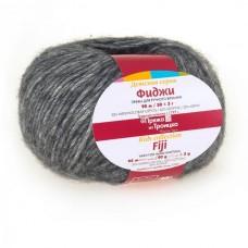 Пряжа для вязания ТРО Фиджи (20% мериносовая шерсть, 60% хлопок, 20% акрил) 5х50г/95м цв.0008 св.серый