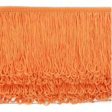 Бахрома шелковая FD-10 шир.10см цв.025 оранжевый уп.10м