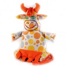 Набор для изготовления текстильной игрушки-грелки П-106 Коровка-Буренка 20 см