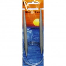 50469 PONY Спицы круговые 10,00 мм/120 см, пластик