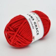 Пряжа для вязания ТРО LANA GRACE Grande (25% мериносовая шерсть, 75% акрил супер софт) 5х100г/65м цв.0042 красный