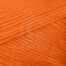 Пряжа для вязания КАМТ Гармония (50% импортная п/т шерсть, 50% акрил) 5х100г/245м цв.035 оранжевый